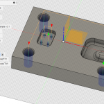 Fusion360 CAMの実践/切削加工用パス作成・穴加工編