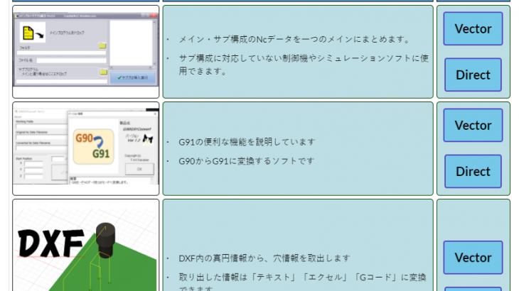 ダウンロードページを作る。VSCodeを使ってHTMLで書いてみる。